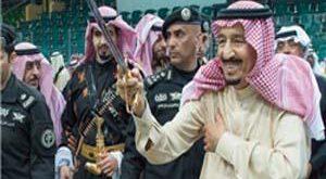 واکنش مصری ها به رقص پادشاه عربستان!
