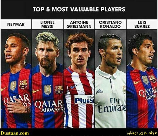 گرانترین بازیکن فوتبال جهان