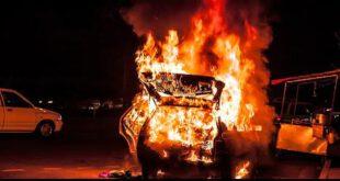 اخبار حوادث ,خبرهای  حوادث ,انفجار خودرو در گلشهر کرج