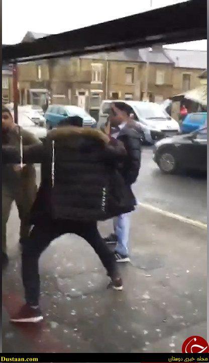 www.dustaan.com فیلم: لحظهای تاسف بار از حمله اراذل و اوباش