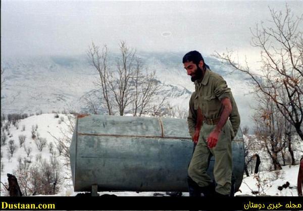 فرمانده لشکر عاشورا در دمای زیر ۱۵ درجه