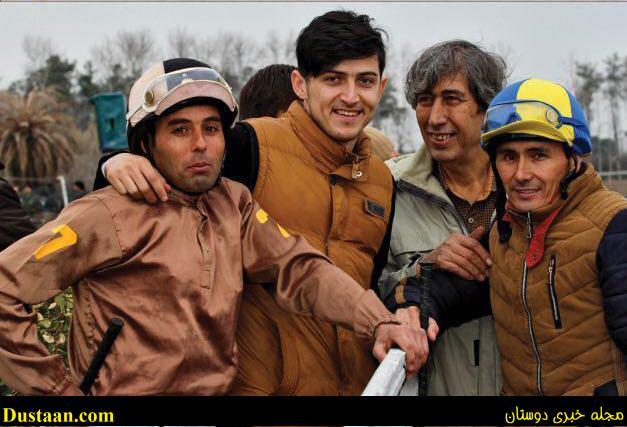 www.dustaan.com خوشگذرانی های سردار ازمون در ایران! +تصاویر
