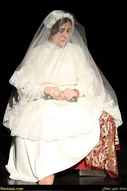 عکس: باران کوثری در لباس عروسی