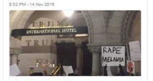 تعرض جنسی به ملانیا ترامپ، همسر رئیس جمهور امریکا +عکس