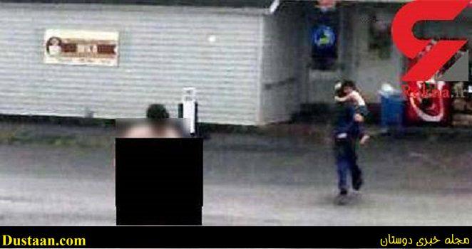www.dustaan.com عکس: فرار مرگبار زن برهنه از حمام خانه به خیابان