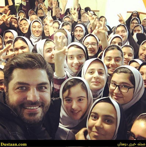 www.dustaan.com - بیوگرافی و عکس های سام درخشانی ، همسرش عسل امیرپور و دخترش برکه