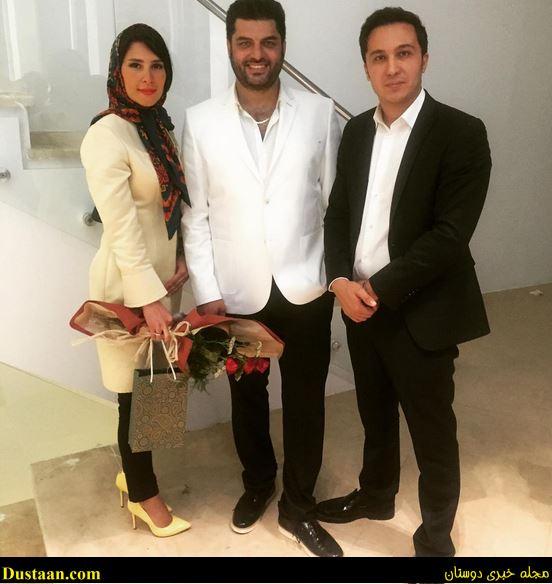 www.dustaan.com بیوگرافی و عکس های سام درخشانی ، همسرش عسل امیرپور و دخترش برکه