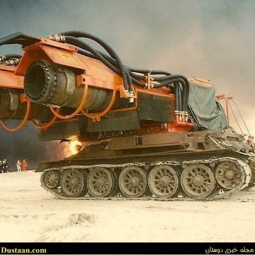 عکس: قوی ترین ماشین آتش نشانی در جهان