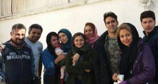 عکس: شهرزاد کمالزاده و پوریا پورسرخ در مرز خوشبختی