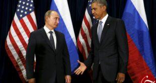 منتخب واکنشهای پوتین و اوباما در دیدار با هم +تصاویر