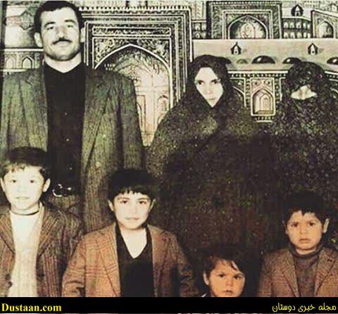 تصویری قدیمی از علی دایی و خانواده اش در حرم امام رضا(ع)