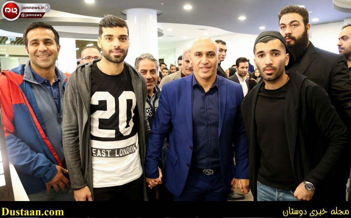 عکس: رقابت دایی و منصوریان به خارج از زمین فوتبال کشید!