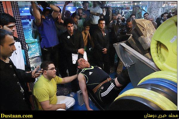www.dustaan.com موسی هاشمی مقدم : در ۵۷ سالگی رکورد «رونی کُلمن» را زدم!
