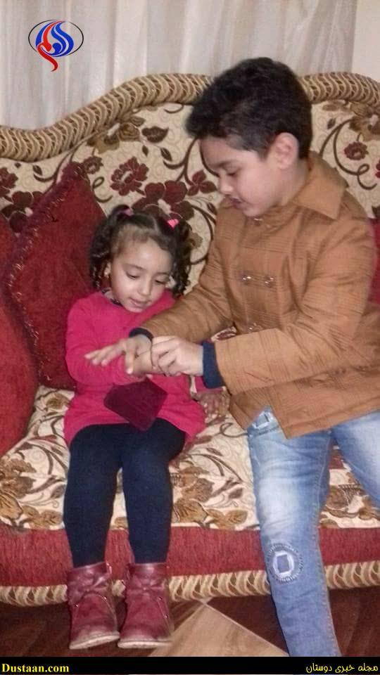 www.dustaan.com تصاویر: ازدواج عجیب پسربچه ۷ ساله با دختربچه ۴ ساله!