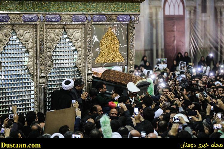 تصاویر زیبا از مراسم تشییع آیت الله هاشمی