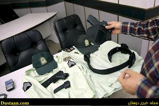 عکس: دستگیری پلیس های قلابی در رودبارجنوب