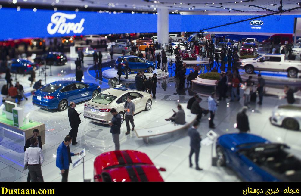 www.dustaan.com تصاویری زیبا از نمایشگاه اتومبیل دیترویت
