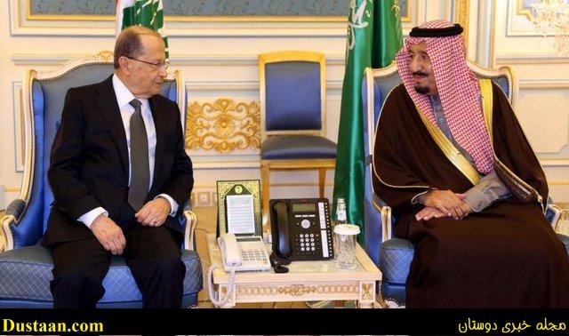 www.dustaan.com دیدار میشل عون با پادشاه عربستان +عکس