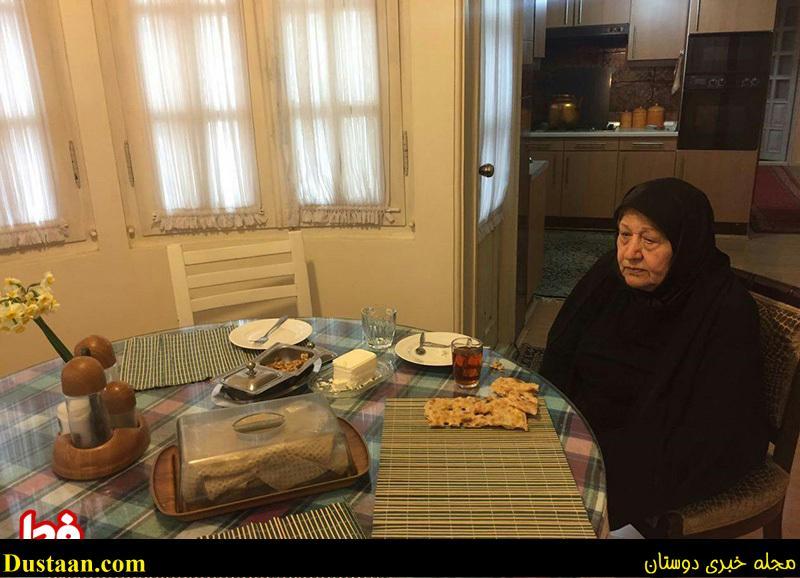 اولین صبحانه عفت مرعشی پس از فوت آیت الله هاشمی
