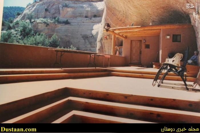 تصاویر: ساخت خانه ای زیبا و لوکس در داخل غار!