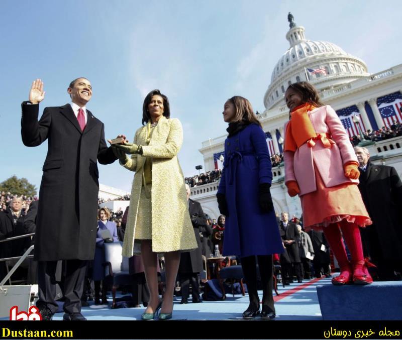 www.dustaan.com تصاویر خانوادگی باراک اوباما