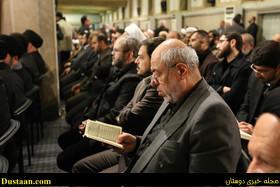 تصاویر: رهبر معظم انقلاب و مسئولین کشوری در مراسم بزرگداشت آیت الله هاشمی