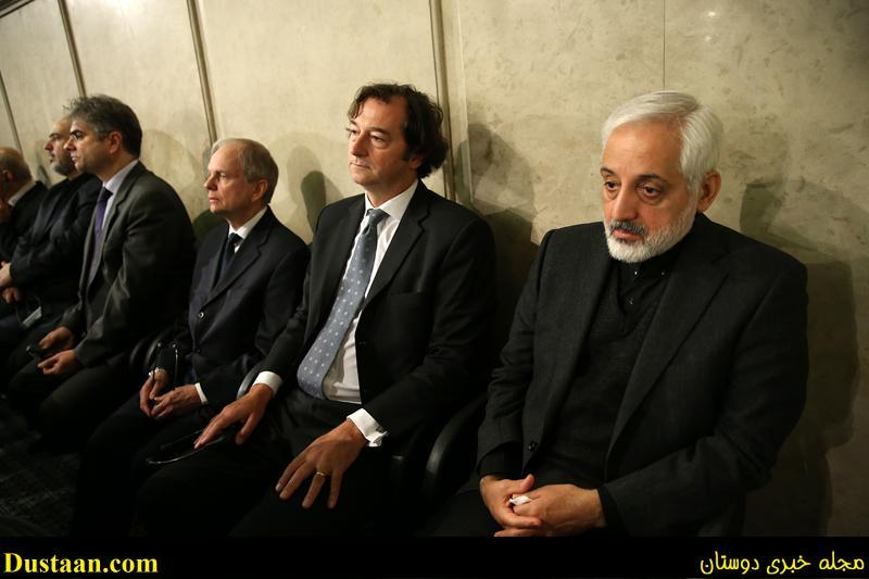 عکس: حضور سفیر انگلیس در مراسم ترحیم هاشمی