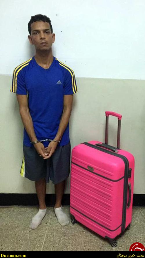 www.dustaan.com تصاویر: جاسازی شوهر داخل چمدان برای فرار از زندان!