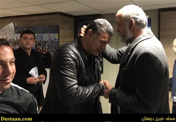 www.dustaan.com عکس: سرمربی استقلال موبایل دایی را پیدا کرد!