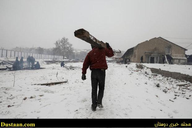 www.dustaan.com تصاویری از وضعیت نامناسب پناهجویان در اروپا