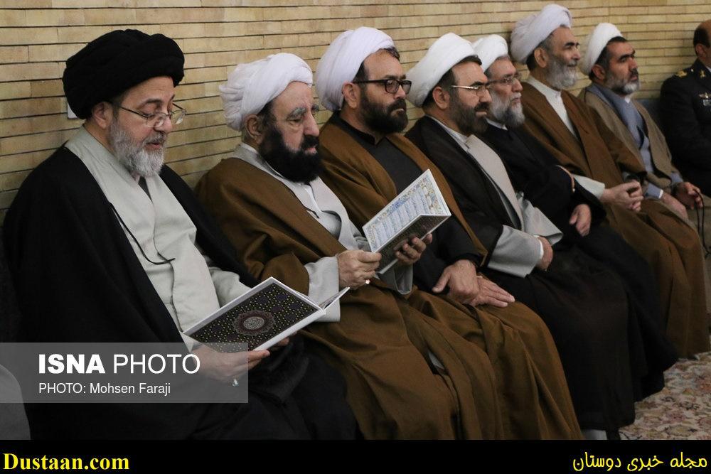 www.dustaan.com تصاویر: مراسم ترحیم آیت الله هاشمی رفسنجانی در تبریز