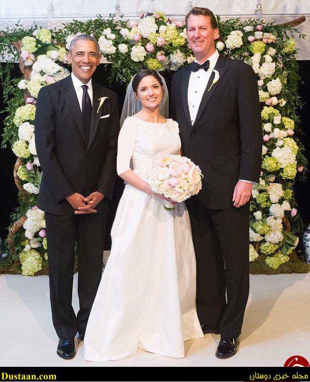 تصاویر: باراک اوباما ساقدوش داماد شد!