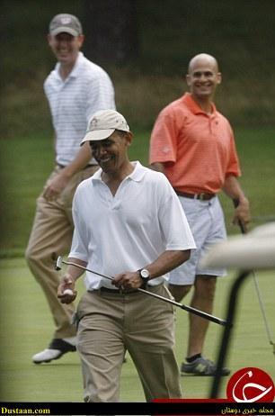 www.dustaan.com تصاویر: باراک اوباما ساقدوش داماد شد!