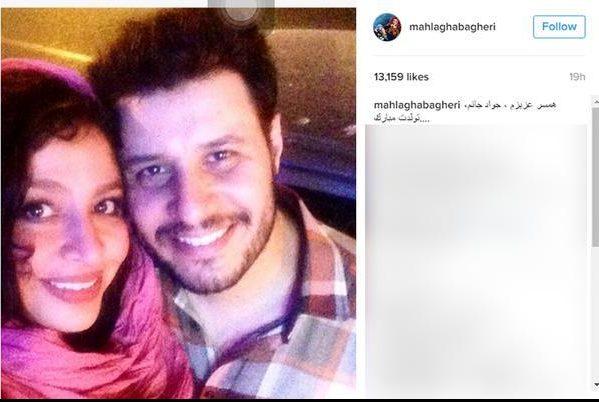 www.dustaan.com عکس متفاوت زوج بازیگر به مناسبت تبریک تولد!