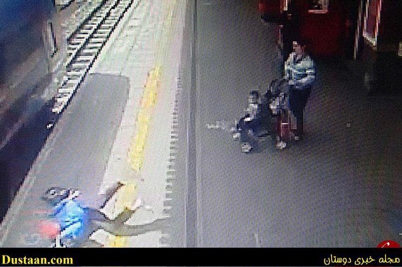 www.dustaan.com تصاویر: نجات معجزه اسای زن جوان از مرگ حتمی
