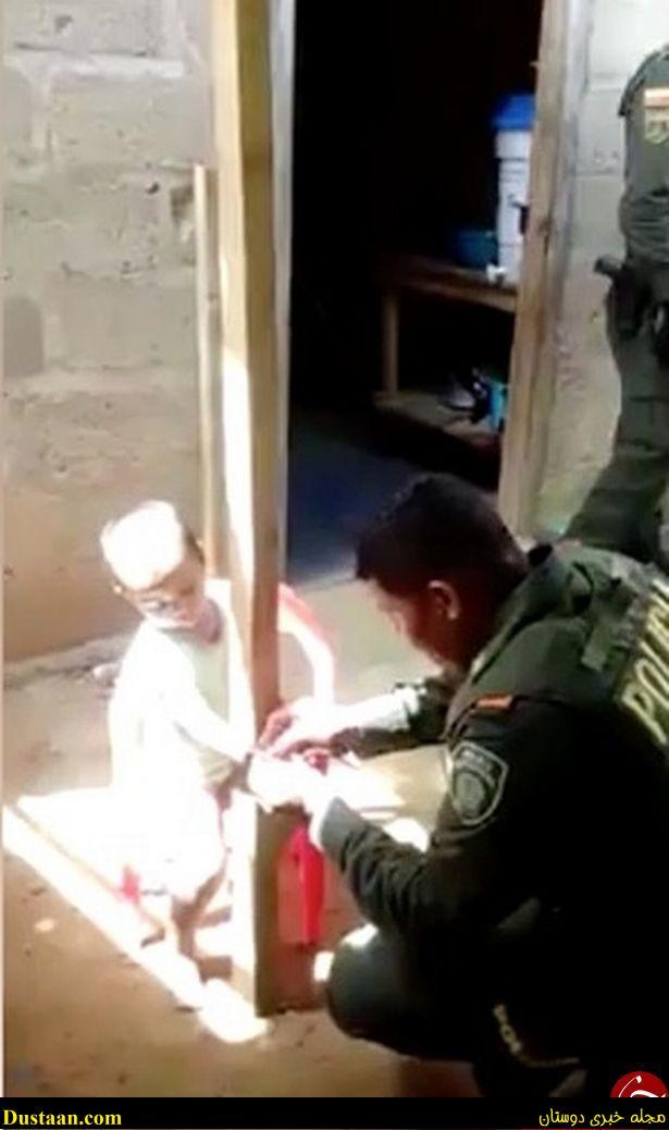 www.dustaan.com تصاویر: تنبیه وحشیانه یک کودک، کار دست مادرش داد!