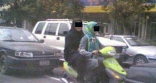 عکس: موتورسواری دو دختر در سردشت دزفول جنجال افرین شد