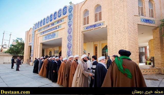 تصاویر: مجلس ترحیم مرحوم هاشمی در کربلا