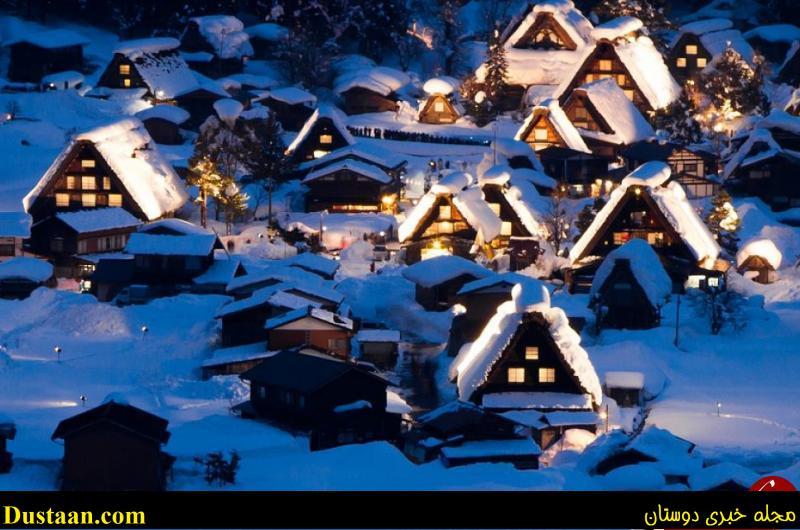 تصاویر: خانه های بسیار مقاوم ژاپنی ها برای تحمل سرمای سخت هوا!
