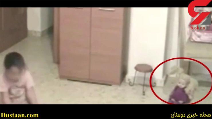 www.dustaan.com تصاویر مخفی و ترسناکی که یک پدر از اتاق دخترش گرفت + فیلم