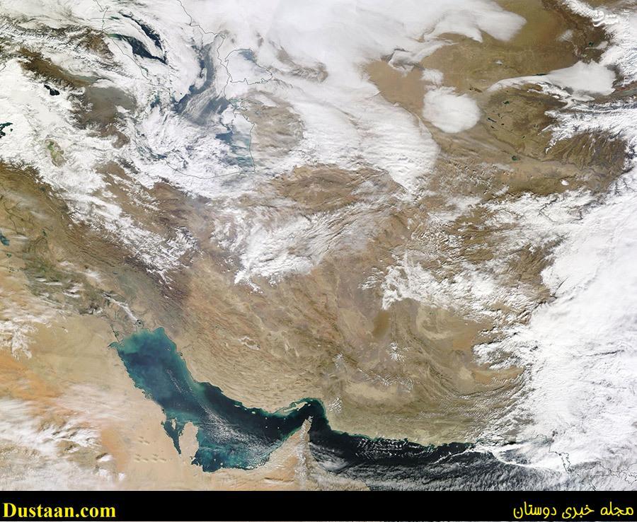 آب و هوای امروز ایران