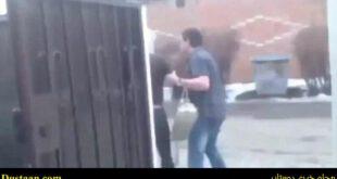 مرد جوانی که به خاطر خیانت نامزدش، او را درون سطل اشغال انداخت! +تصاویر