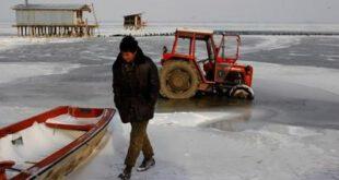 تصاویر: سرمای بی سابقه در اروپا