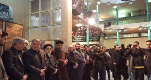 عکس: مراسم سوگواری آیت الله هاشمی با حضور رئیس جمهور