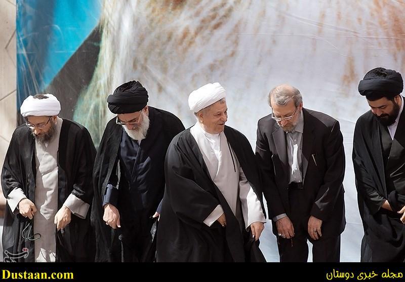 www.dustaan.com چرا ایت الله هاشمی رفسنجانی گفت «دیگر میتوانم راحت بمیرم»؟