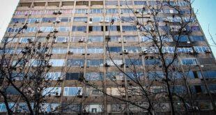 ساختمان آلومینیوم در وضعیت هشدار +تصاویر