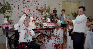 اخبارگوناگون,خبرهای  گوناگون ,ازدواج زن 106 ساله با مرد 66 ساله