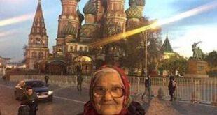 مادربزرگ ۸۹ ساله سوژه شد! +تصاویر