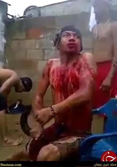 www.dustaan.com تصاویر: مراسم وحشتناک جن گیری با خون!