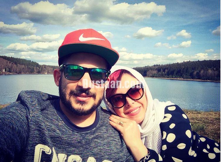 www.dustaan.com سلفی زیبای فلور نظری و پسرش در اتریش
